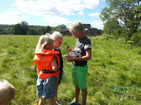 Geocaching med barn