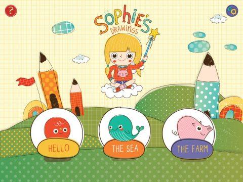Sophie's drawings
